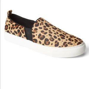 GAP leopard slip on sneakers